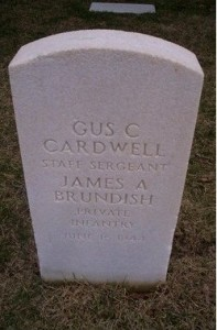 Boots Cardwell and James Brundish Joint Headstone