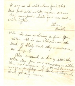 Boots' Letter Home 6-5-1944 (Page 2)