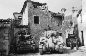 "Light (""Lee"") Tank and Medium (""Sherman"") Tank - Italy"