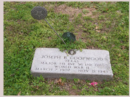 COOPWOOD HEADSTONE