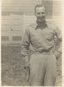 At DeRidder, La. In 1940