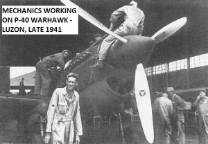 FAIRCHILD 3d_Pursuit_Squadron_P-40Cs_Nichols_Field_Luzon