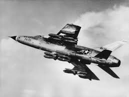 F-105 WITH COMBAT LOAD