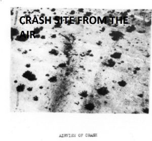 DALTON - airview of crash