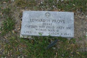 PROVE EDWARD HEADSTONE