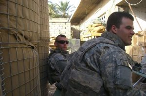 WITH A BUDDY IN IRAQ