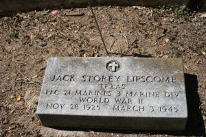 LIPSCOMB HEADSTONE LOCKHART TEXAS