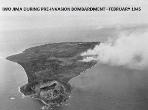 LIPSCOMB-IWO PRE INVASION BOMBARDMENT